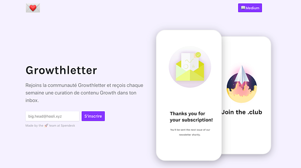 Spendesk Growthletter