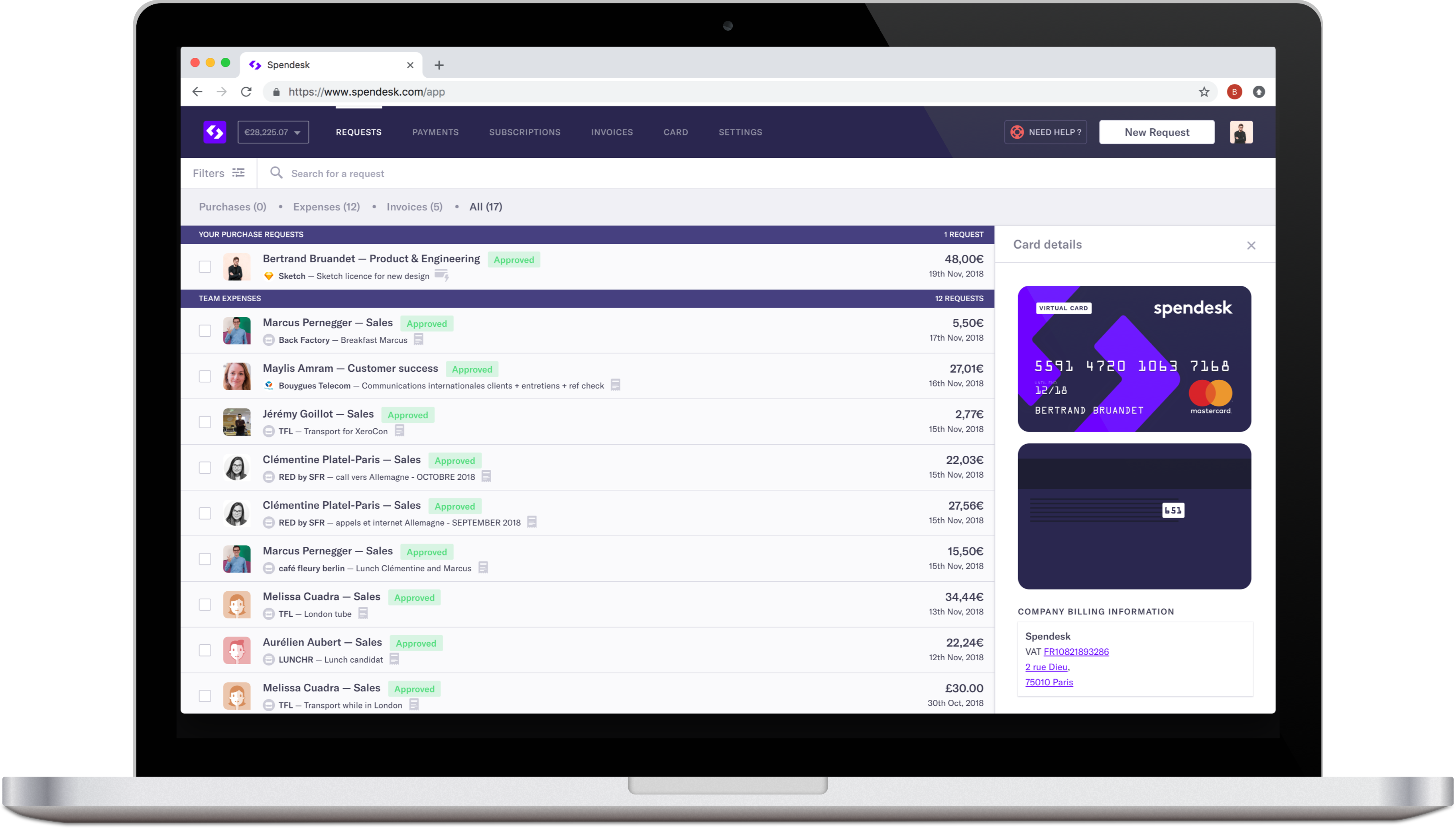 spendesk-dashboard